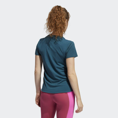 Women Training Turquoise AEROREADY Tee