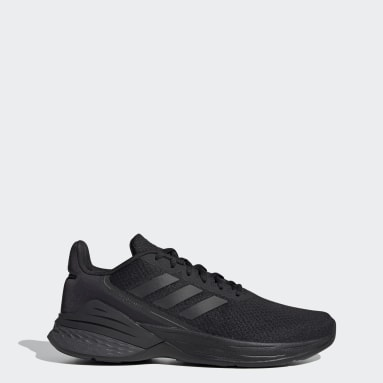Men Walking Black Response SR Shoes