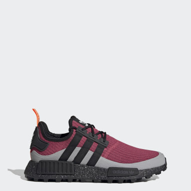 Men Originals Pink NMD_R1 Trail Shoes