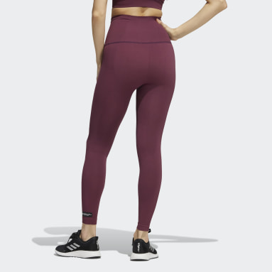 Women Training Red Formotion Sculpt Tights