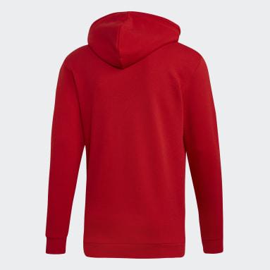 Polerón con Capucha Trifolio Rojo Hombre Originals
