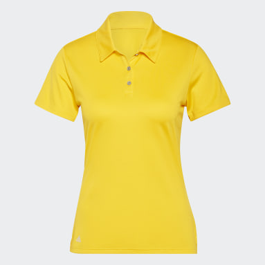 Dam Golf Gul Performance Polo Shirt