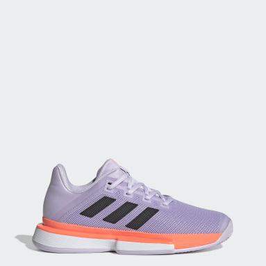 Dam Tennis Lila SoleMatch Bounce Hard Court Shoes