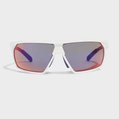 Running White Sport Sunglasses SP0030