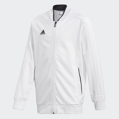 Kids Gym & Training White Condivo 18 Jacket