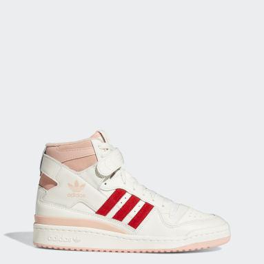 Men's Originals White Forum 84 Hi Shoes