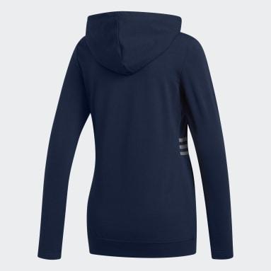 Sweat-shirt à capuche léger Bleu Femmes Golf