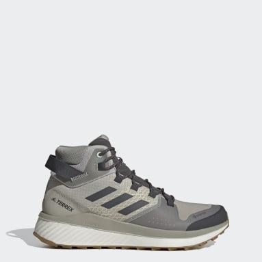 Men TERREX Grey Terrex Folgian Mid GORE-TEX Hiking Shoes
