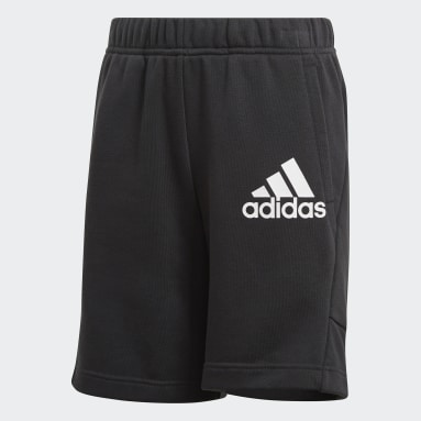 Youth Training Black Badge of Sport Shorts