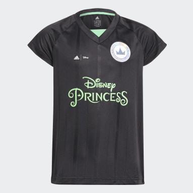 Girls Gym & Training Black Disney Princesses Football Set