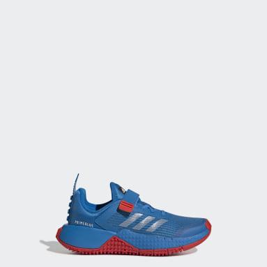 Children Running Blue adidas x Classic LEGO® Sport Shoes
