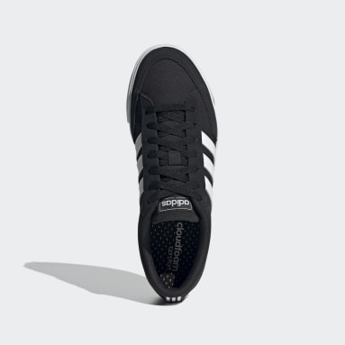 Men Skateboarding Black Retrovulc Shoes