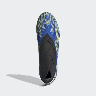 Bota de fútbol Nemeziz 20+ césped natural húmedo Azul Fútbol