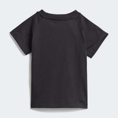 T-shirt Adicolor Graphic Noir Enfants Originals