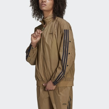 Women's Originals Brown R.Y.V. Track Jacket