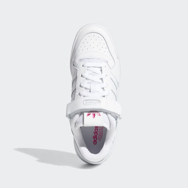 Women's Originals White Forum Low Shoes