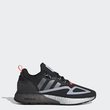 Men Originals Black ZX 2K Boost Shoes