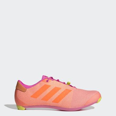 Wielrennen roze The Road Fietsschoenen
