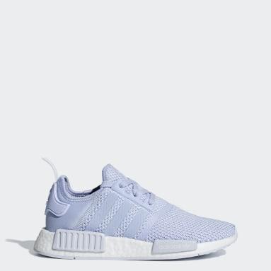 Women Originals Blue NMD_R1 Shoes