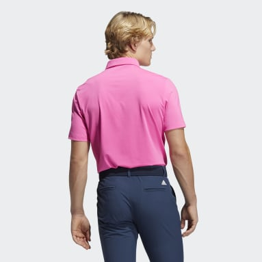 Ultimate365 Solid Left Chest Polo Shirt Różowy