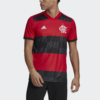 Men Football Red CR Flamengo 21 Home Jersey