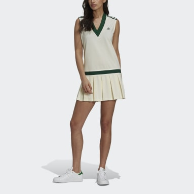 Dames Originals wit Tennis Luxe Tennisjurk