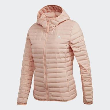 Chaqueta con capucha Varilite Soft Rosado Mujer Outdoor