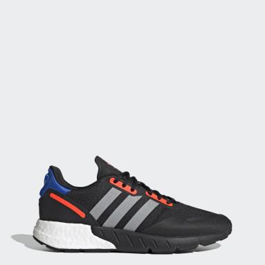 Men Originals Black ZX 1K Boost Shoes