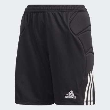 Boys Football Black Tierro Goalkeeper Shorts