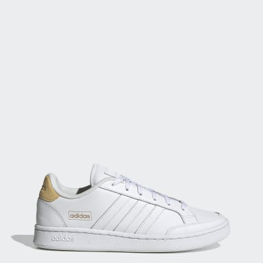 Tenis Grand Court SE Blanco Mujer Essentials