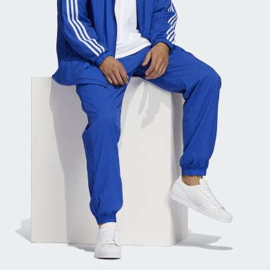 Men's Originals Blue Reverse Track Pants
