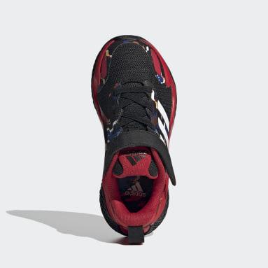 เด็ก วิ่ง สีดำ รองเท้า 4uture RNR CNY