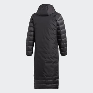 черный Пуховик Winter