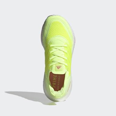 Dames Hardlopen Geel Ultraboost 21 Schoenen
