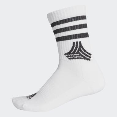 Soccer Black Soccer Street 3-Stripes Crew Socks