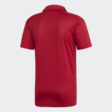 Men Training Burgundy Design 2 Move Climacool Polo Shirt