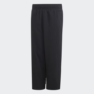 Boys Gym & Training Black ID Pants