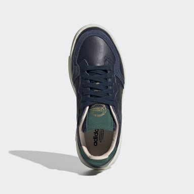 Chaussure Supercourt Bleu Enfants Originals