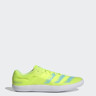 Track & Field Yellow Throwstar Shoes