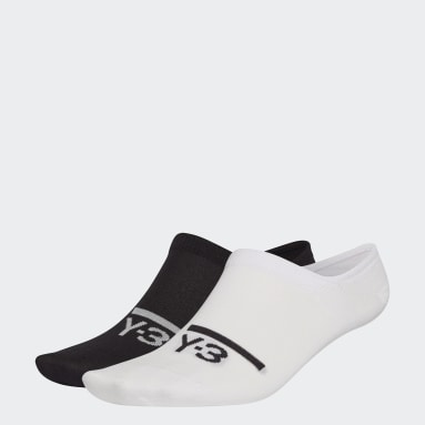Y-3 Black Y-3 Invisible Socks (2 Pairs)