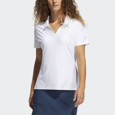 Polo Go-To Primegreen Blanco Mujer Golf
