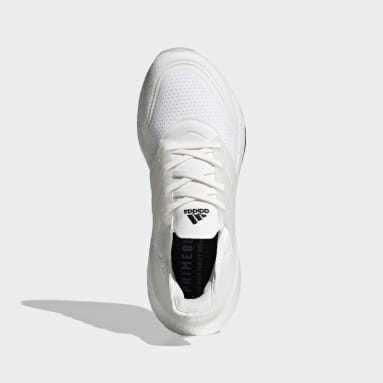 Men Running White Ultraboost 21 Primeblue Shoes