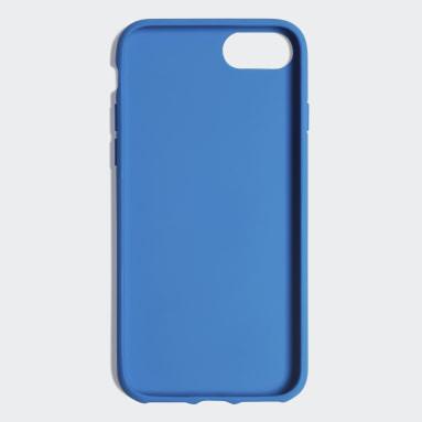 Custodia Basic Logo iPhone 8 Blu Originals
