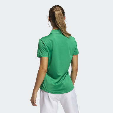 Polo Performance Primegreen Verde Mujer Golf