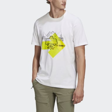 Camiseta Travel Graphic Blanco Hombre TERREX