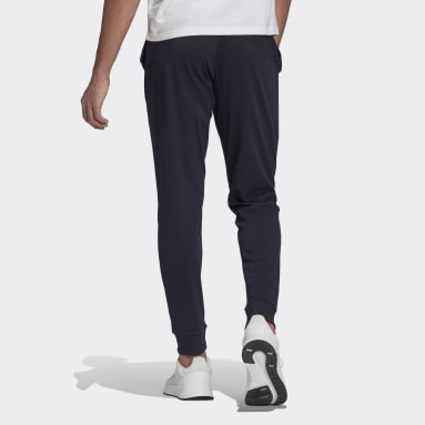 Men's Essentials Blue Essentials Single Jersey Tapered Cuff Pants