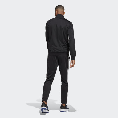 Primegreen Essentials 3-Stripes Track Suit Czerń