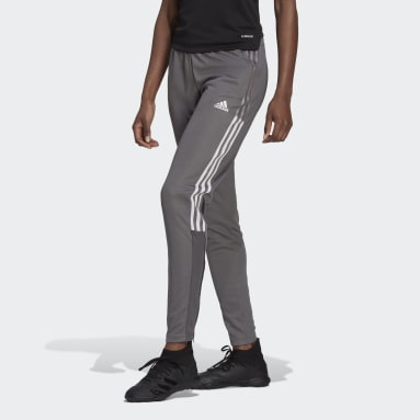 Women's Lifestyle Grey Tiro 21 Track Pants