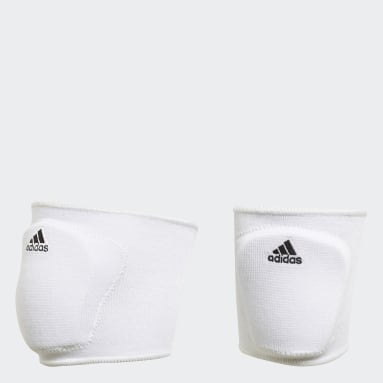 Youth Volleyball White 5 Inch Youth Volleyball Kneepads