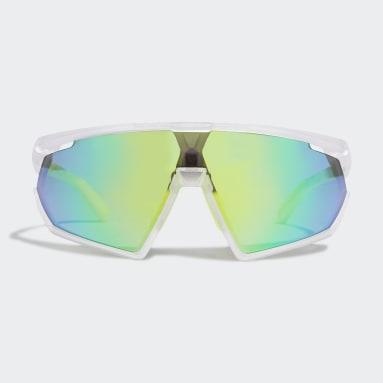 Sport Solbriller SP0001 Hvit